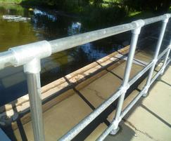 Kee Klamp® handrails - University of York