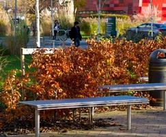 Benchmark Design: Tough steel furniture, Nottingham University