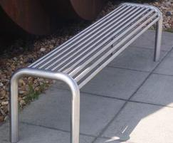 Baseline BL100 contemporary stainless steel bench
