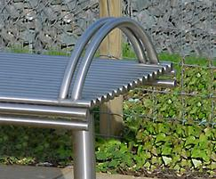 Centerline CL005/CL006 contemporary steel bench