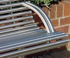 Centerline CL003 contemporary stainless steel seat