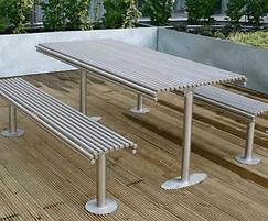 Centerline CL025 steel picnic sets