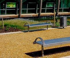 Centerline CL006 stainless steel bench