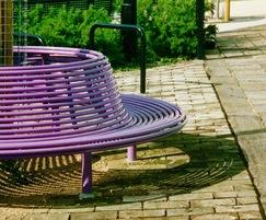 Centerline CL011 powder-coated steel tree seat