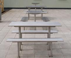 Baseline BL025 stainless steel picnic sets