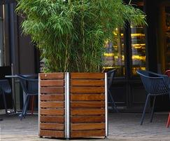 Shoreline SLPL square planter