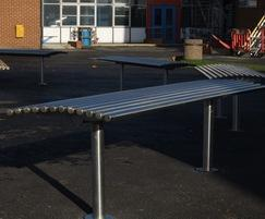 Baseline BL006 stainless steel benches