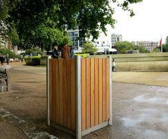 Shoreline street furniture - bespoke litter bin
