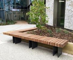 Benchmark street furniture - EX005 - bespoke dimensions