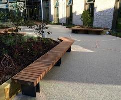 Benchmark street furniture - EX005 bench
