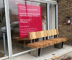 Benchmark street furniture - new Exeter seat