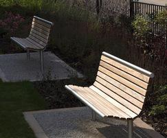 Shoreline seating from Benchmark Design