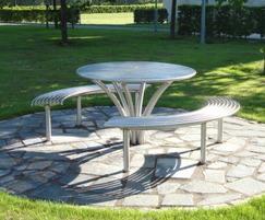 Stainless steel street furniture