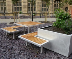 Benchmark street furniture - Campus range