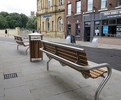Street furniture from benchmark design ltd