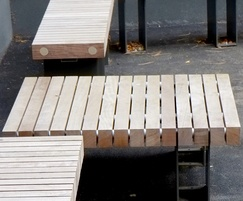 Exeter timber picnic table - Benchmark street furniture