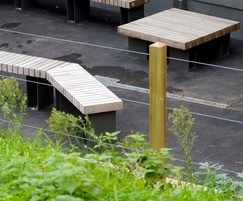 Timber street furniture from Benchmark