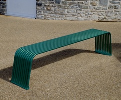 Powder coated BL006 bench