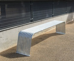 BL006 bench,  316 stainless steel or Galvanised steel