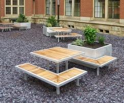 Street furniture from Benchmark Design
