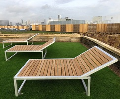 Benchmark street furniture - CPSL Loungers