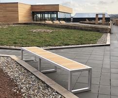 Benchmark street furniture - Campus bench