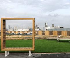 Benchmark street furniture - bespoke photoframe