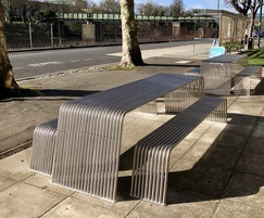 BL026 picnic table - Benchmark street furniture