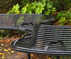 Benchmark Street Furniture S-curved CL010 seat