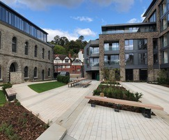 Seating for outdoor courtyard - Bristol harbourside
