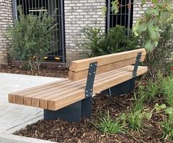 benchmark street furniture Exeter seat