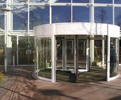 Tormax automatic revolving entrance at Centre Parcs