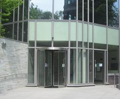 TORMAX United Kingdom: TORMAX entrance for London office redevelopment