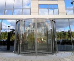 Full Glass automatic revolving doors