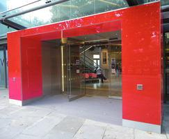 Tormax automatic entrance, Sadler's Wells Theatre