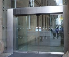 TORMAX automatic doors installed at Newcastle Station