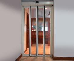 FOLDDOOR space saving doors