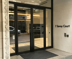 Concealed swing door automation