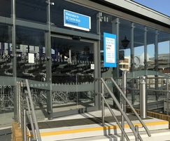 Gravesend Cycle Hub - TORMAX automatic entrance system
