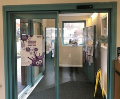 TORMAX automatic sliding doors to medical practice