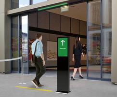 TORMAX count+go - pedestrian traffic control system
