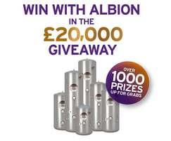 Kingspan Environmental: Win with Albion in the £20,000 giveaway