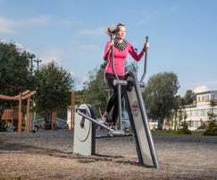 cross trainer outdoor gym equipment