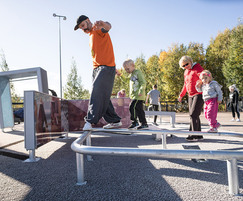 Parkour and free running equipment