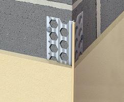 Renderplas PVCu corner beads for standard render
