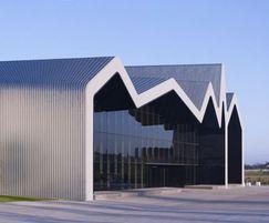Glasgow Riverside Museum with titanium zinc