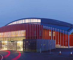 University of Cambridge Sports Centre roof