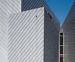 Rheinzink pre-PATINA facade for Bluewater Cinema