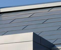 Flat-Lock Tile facade and roof system
