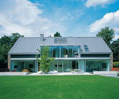 Angled standing seam for roofs